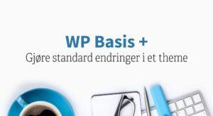 Gjøre standard endringer i et theme ved hjelp av «The Customizer»