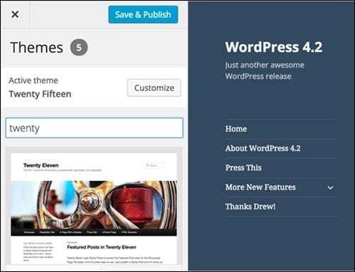 WordPress 4.2 støtter embed fra flere sider og tjenester