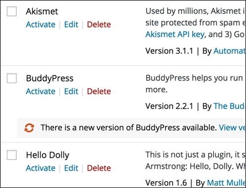 Ny og bedre funksjon for oppdatering av plugins