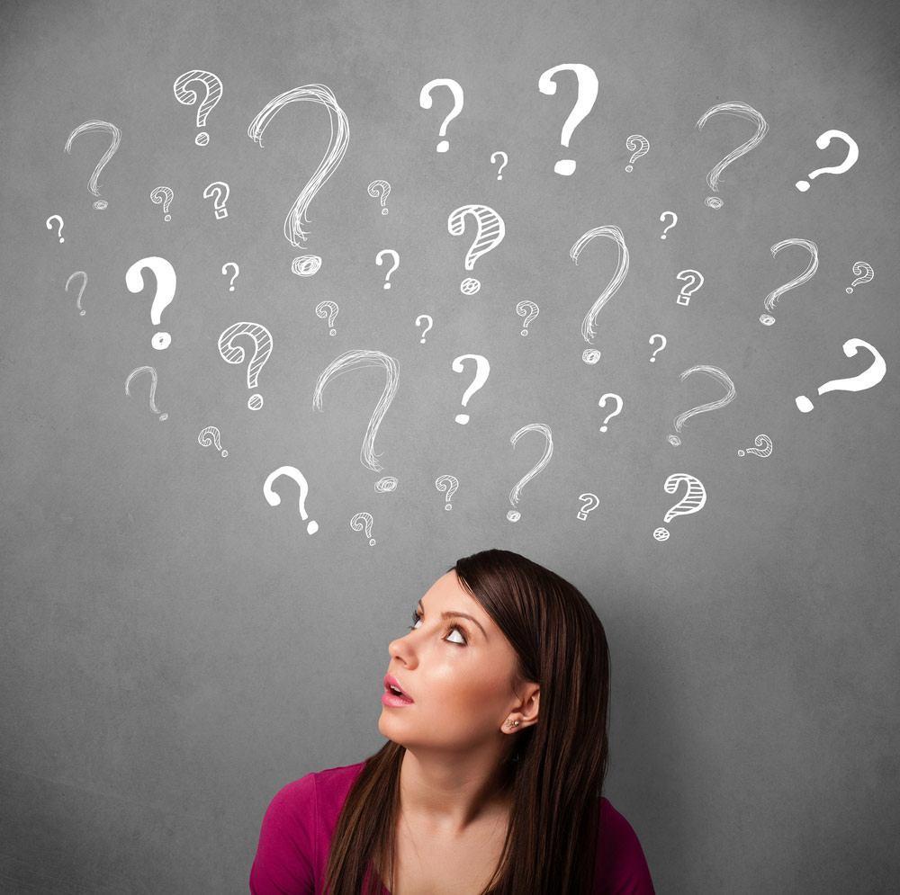 Føler du deg som et levende spørsmålstegn?