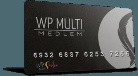 WP Multi medlemskap på WP Skolen