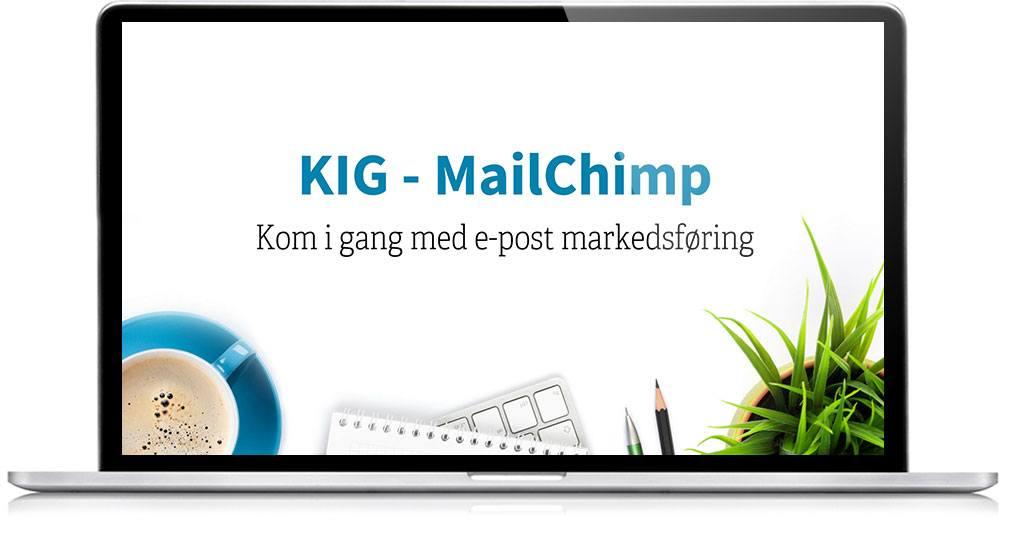 Kom i gang med MailChimp