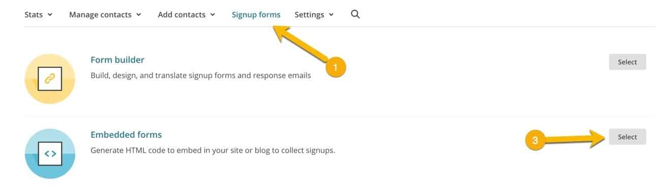 "Nå skal vi hente ut koden til et ""sign up form"""