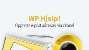 WP Hjelp epostadresser