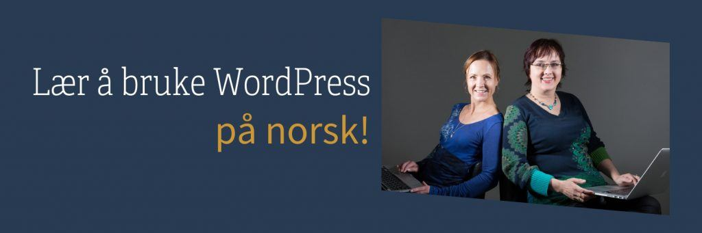 Lær wordpress