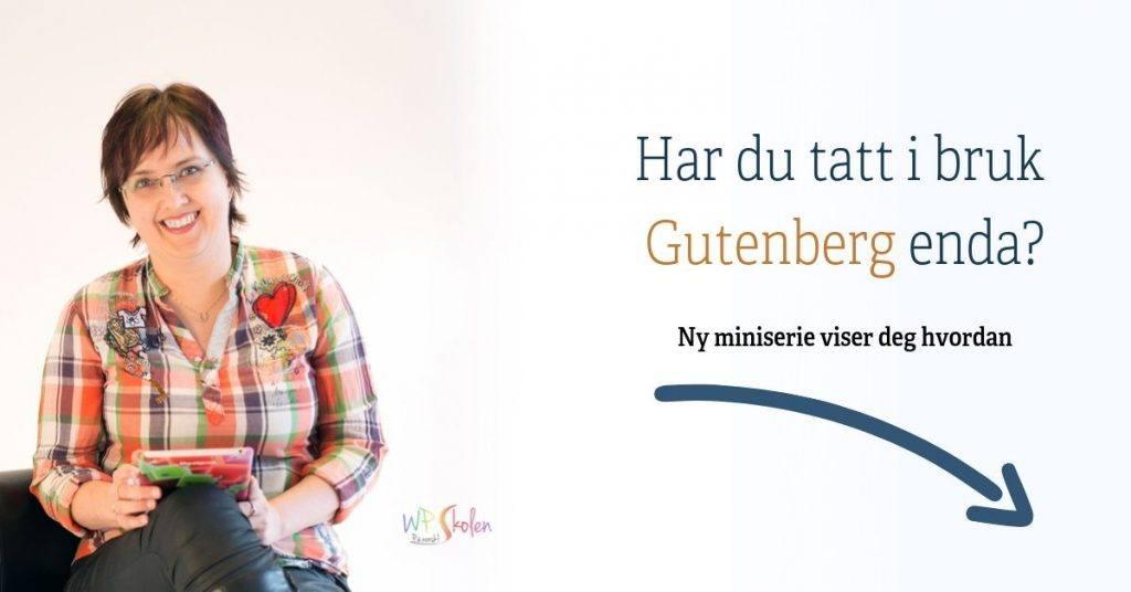 ny miniserie om Gutenberg
