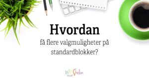Hvordan... i wordpress