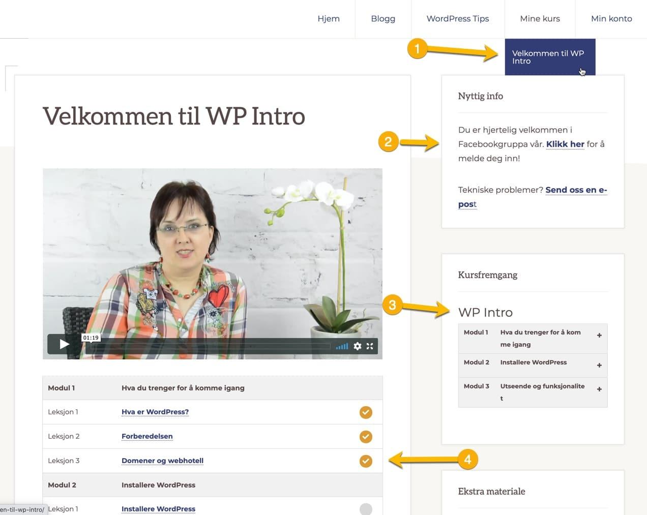 Hvordan fungerer medlemsportal i WordPress?